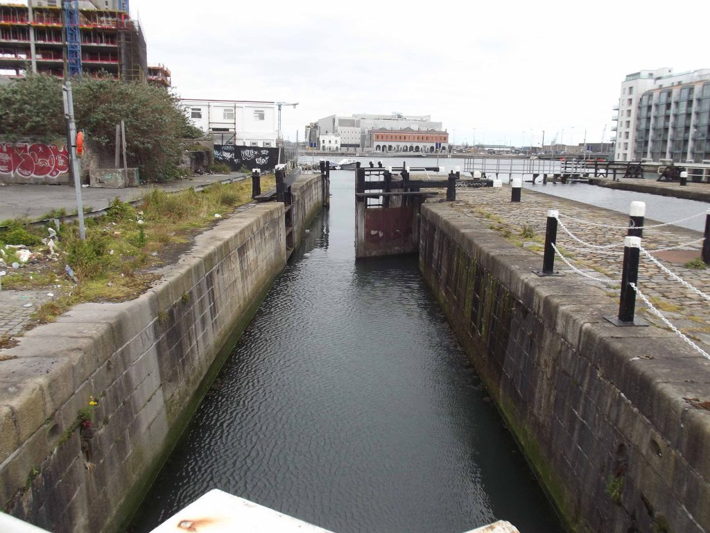 Partnering with the Inland   Waterways Association of Ireland, one of our 2017 projects is to remove the debris at the bottom of the Westmoreland Lock Gate to help make it navigable again.