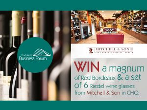 Social media competition sponsored by Mitchell and Son Wine Merchants.