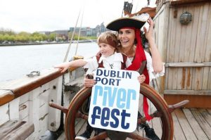 Launching the 3rd Dublin Port Riverfest