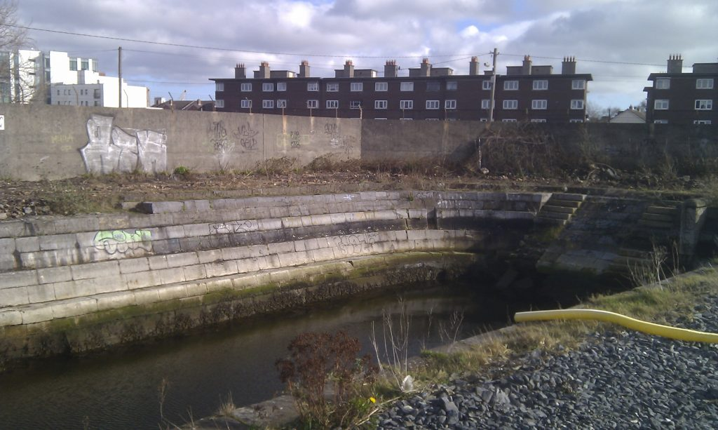 The small Graving Dock as it appears today