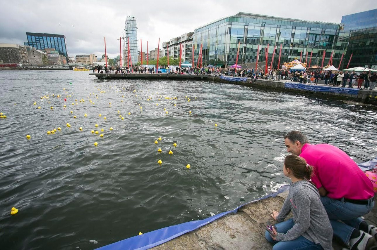 Our International World Famous Rubber Ducky Race is one of our most popular events. We held an extra race on Sunday to facilitate the numbers.