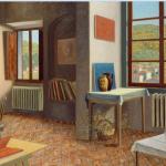 Stephen McKenna, Interior with Red Folder, AIB Bank Art Collection